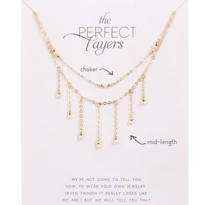 Perfect Layers Pearl & Sparkle Necklaces